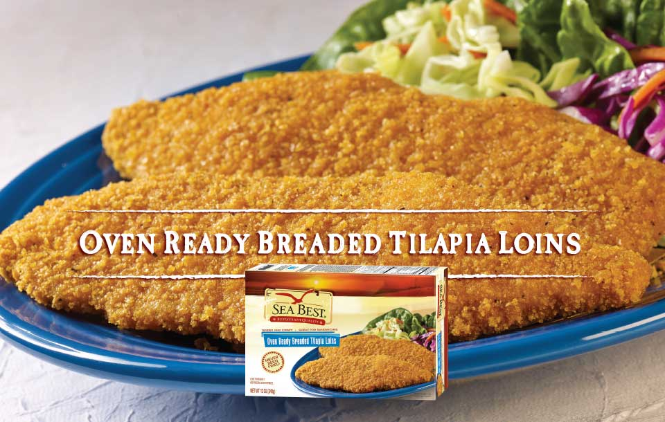 Breaded Tilapia With Package