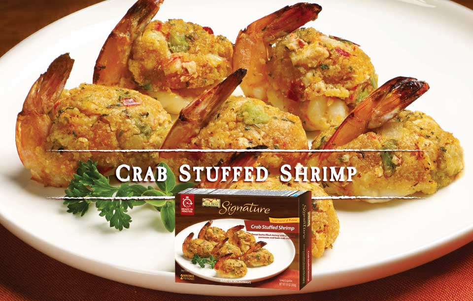 Crab Stuffed Shrimp With Package