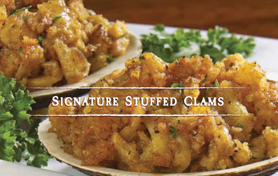Signature Stuffed Clams