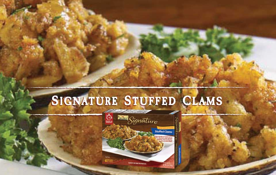 Signature Stuffed Clams With Package
