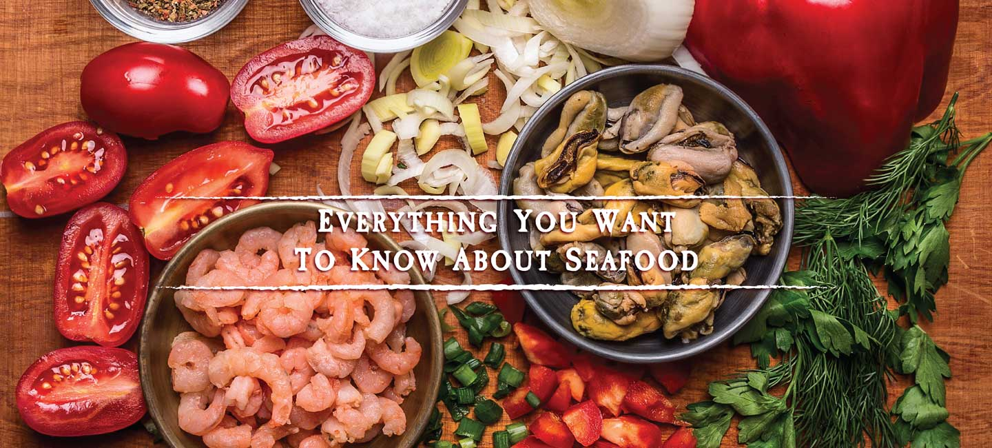 A Sampling of Seabest Seafood